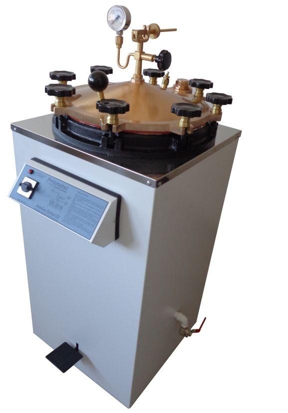 Autoclave vertical  analógica 100 L MOD CS 100  Prismatec